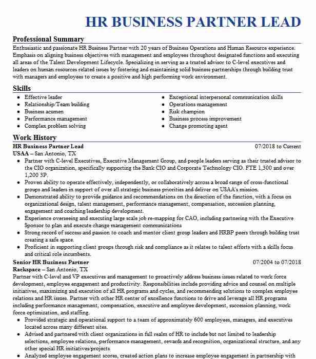 senior hr business partner 4c1b625e eaa28a5d8436f
