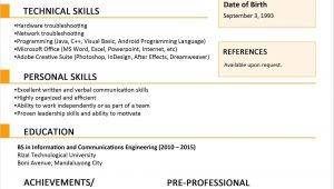 6 Months Experience Resume Sample In PHP 6 Months Experience Resume Sample In software Engineer