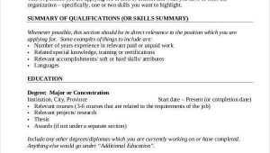 A Sample Resume for A First Job First Job Resume 7 Free Word Pdf Documents Download