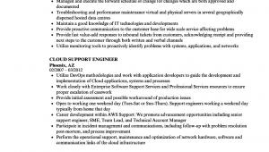 Aws Cloud Support Engineer Resume Sample Aws Cloud Engineer Resume Best Resume Examples