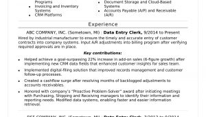 Data Entry Job Description Resume Sample Data Entry Resume Sample Monster.com