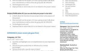 Data Science Resume Sample for Experienced How to Write A Great Data Science Resume – Dataquest