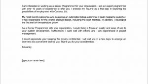 Email Cover Letter Samples for A Resume Submission Email Resume Cover Letter – Cover Letter Sample for Job Application
