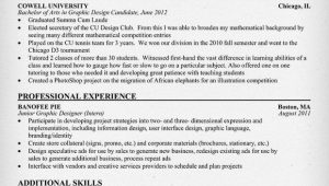 Entry Level Graphic Designer Resume Sample Resume Samples and How to Write A Resume