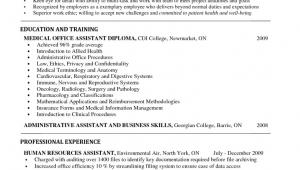 Entry Level Medical assistant Resume Sample Key Ingre Nts Of Entry Level Medical assistant Resume