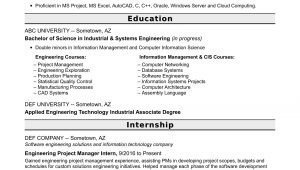 Entry Level Project Manager Sample Resume Entry Level Project Manager Resume for Engineers