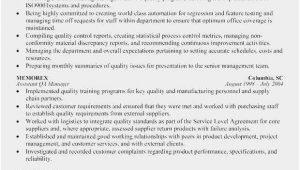 Entry Level Quality assurance Resume Samples Free Collection 58 Quality assurance Resume Sample