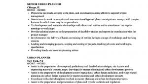 Entry Level Urban Planner Resume Sample Urban Planner Resume Samples