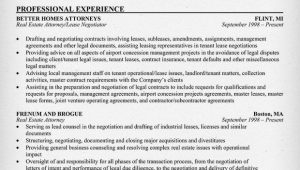Experienced Real Estate attorney Resume Samples Real Estate attorney Resume Example