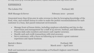 Fast Food Customer Service Resume Sample How to Write A Perfect Food Service Resume Examples Included