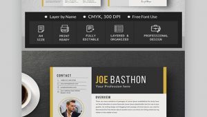 Free Sample Resume for Graphic Designer 30 Best Web & Graphic Designer Resume Cv Templates (examples for 2020)