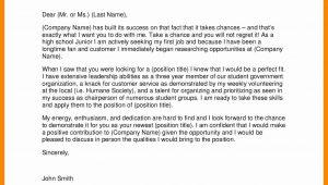 High School Resume Cover Letter Samples Cover Letter Template for High School Students – Resume format …