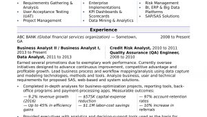 It Business Analyst Resume Samples with Objective Business Analyst Resume Sample Monster.com