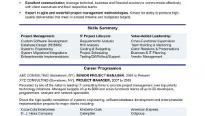 It Project Management Resume Examples and Samples Experienced It Project Manager Resume Monster.com
