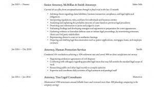 Labor and Employment attorney Resume Sample 18 attorney Resume Examples & Writing Guide Pdf's & Word 2020