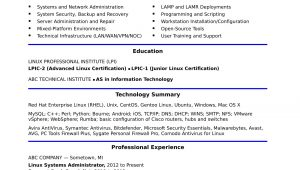 Linux System Administrator Sample Resume 5 Years Experience Sample Resume for A Midlevel Systems Administrator Monster.com