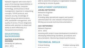Network Engineer Resume Sample Free Download 6 Network Engineer Resume Templates Psd Doc Pdf