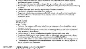 Nurse Sample Resume with Job Description Sample Nurse Resume with Job Description Best Resume