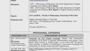 Old Job Seeker Sample Resumes for Older Workers 14 Easy Ways to Facilitate