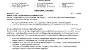 Resume for Promotion within Same Company Sample Advertising & Marketing Resume Sample Professional Resume …