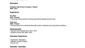 Resume Sample for someone with No Work Experience Resume Examples with No Job Experience , #examples #experience …