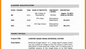 Resume Samples for Freshers In India Resume format for Freshers Best Of 10 Cv Sample for Fresher …