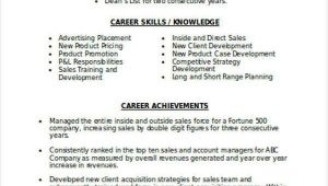 Sales and Marketing Resume Sample Doc Marketing Resume format Template 7 Free Word Pdf