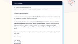 Sample Email Body for Sending Resume What to Write In An Email when Sending A Resume Samples