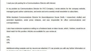 Sample Email Cover Letter with attached Resume Pdf Cover Letter Template – 17 Free Word Pdf Documents
