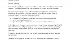 Sample Letter Of Resume to Work Sample Cover Letter for A Job Application
