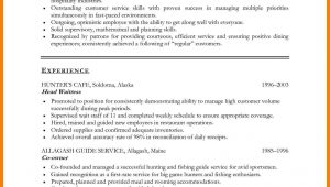 Sample Objective In Resume for Hospitality Industry Career Objective for Hospitality Industry Images Resume Examples …