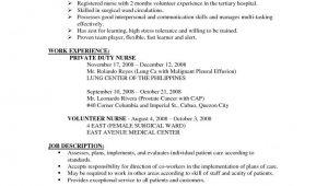 Sample Of Good Resume for Job Application Resume Examples Job Application – Resume Templates Job Resume …