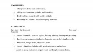 Sample Psw Resume and Cover Letter Sample Psw Resume and Cover Letter