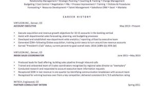 Sample Resume Career Change No Experience How to Spin Your Resume for A Career Change the Muse