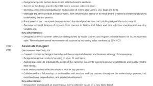 Sample Resume Fashion Design Personal Statement Fashion Designer Resume Example Template Newcast In 2020