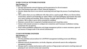 Sample Resume for 1 Year Experience In Network Engineer Resume for Network Engineer with 1 Year Experience