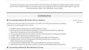 Sample Resume for Accounting assistant Position Accounting assistant Resume & Writing Guide