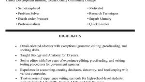 Sample Resume for Blue Collar Worker Blue Collar Resume Examples, 2021