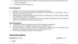 Sample Resume for Bpo Non Voice Process Experienced Rajesh Resume Bpo Jan 2011