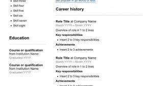 Sample Resume for Casual Jobs In Australia Free Resume Template – Seek Career Advice