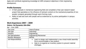 Sample Resume for Civil Engineer Fresh Graduate Sample Resume for Civil Engineer Fresh Graduate 2018