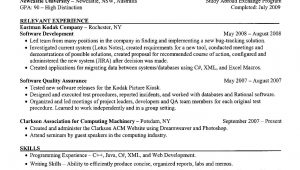 Sample Resume for Computer Science Student Computer Science Resume Example Student Resume Template, Resume …