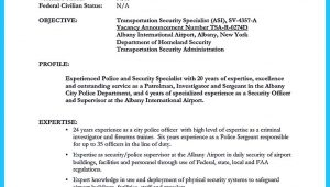 Sample Resume for Correctional Officer with No Experience Cover Letter for Prison Officer with No Experience October 2021