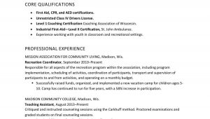 Sample Resume for Daycare assistant Teacher Resume Example for Childcare / social Services Worker