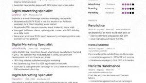 Sample Resume for Digital Marketing Specialist Digital Marketing Specialist Resume Examples & Expert Tips