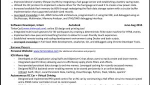 Sample Resume for Google software Engineer How to Write A Killer software Engineering Résumé