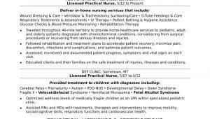 Sample Resume for Lpn New Grad Licensed Practical Nurse Resume Sample Monster.com