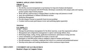 Sample Resume for Manual Testing Banking Domain Sample Qa Tester Resume for Banking Domain Best Resume