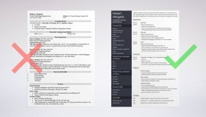 Sample Resume for Ms In Cs Computer Science (cs) Resume Example (template & Guide)