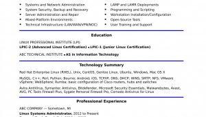 Sample Resume for Network Administrator Fresher Hardware and Networking Fresher Resume format Doc
